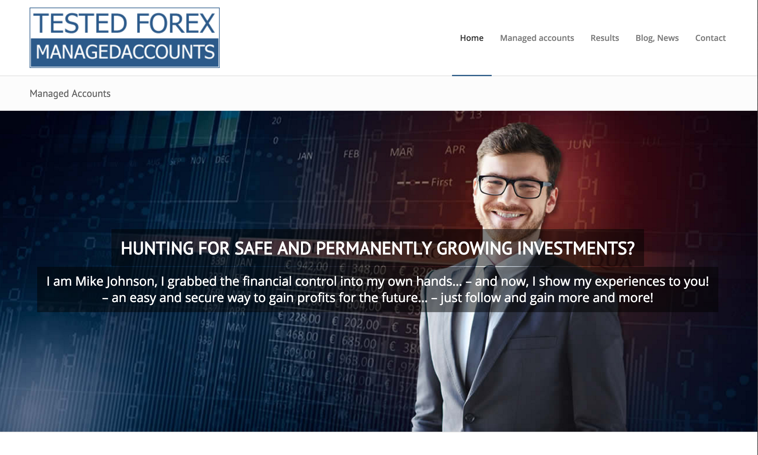 Forex Managed Accounts by Forex92 - 25% to 35% ROI Every Month